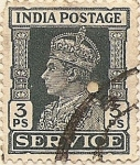Stamps Asia - India -  INDIA POSTAGE SERVICE
