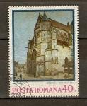 Sellos de Europa - Rumania -  IGLESIA  DE  MORAT