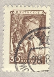Stamps Russia -  cientifico
