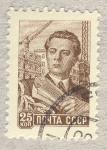 Stamps Russia -  ingeniero