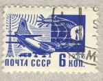 Stamps Russia -  comunicaciones