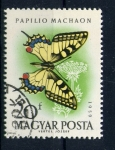 Stamps of the world : Hungary :  papilio machaon