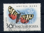 Stamps of the world : Hungary :  arctia hebe