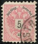 Stamps Austria -  Cifras