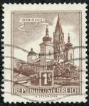 Stamps Austria -  Edificios y monumentos