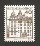 Sellos del Mundo : Europa : Alemania : 876 - Castillo de Wolfsburg