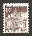 Sellos de Europa - Alemania -  391 - Castillo de Dresde