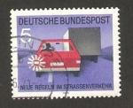 Stamps Germany -  534 - Nuevo reglamento de circulación, luz de adelantamiento
