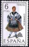 Sellos de Europa - España -  Trajes típicos españoles. Teruel.