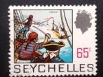 Sellos del Mundo : Africa : Seychelles : CORSARIOS (corsairs)
