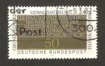Sellos de Europa - Alemania -  938 - Principios básicos de la democracia, texto de la constitucion