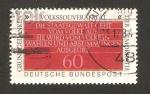 Stamps Germany -  939 - Principios básicos de la democracia, texto de la constitucion