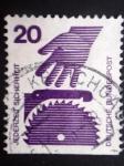 Stamps Germany -  SEGURIDAD EN TODO MOMENTO - PELIGROS