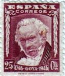 Sellos de Europa - España -  II centenario del nacimiento de Goya