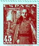 Sellos del Mundo : Europa : España : Franco Castillo de la Mota