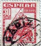 Sellos de Europa - España -  Personajes