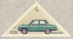 Sellos de Europa - Rusia -  automobil