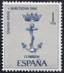 Sellos de Europa - España -  Semana Naval