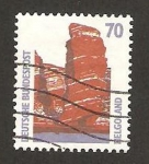 Sellos de Europa - Alemania -  1301 - los acantilados de Heligoland