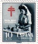 Sellos de Europa - España -  Pro tuberculosos 1953