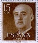 Sellos de Europa - España -  General Franco 1955
