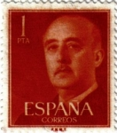 Stamps Europe - Spain -  General Franco 1955