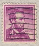 Stamps United States -  Abraham Lincoln