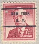 Sellos de America - Estados Unidos -  Woodrow Wilson