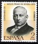 Sellos de Europa - España -  Centenario del nacimiento de Miguel Primo de Rivera.