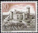 Sellos de Europa - España -  1981 Castillos de España. Bellver,  Mallorca.