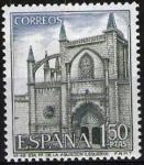 Sellos de Europa - España -  Serie Turística. Iglesia de Santa Maria de la Asunción, Lequeito, Vizcaya.
