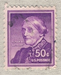 Stamps United States -  Susan B. Anthony