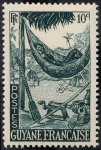 Stamps America - French Guiana -  Hamaca