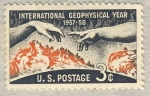 Stamps United States -  International Geophysical Year Stamp