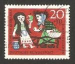 Sellos de Europa - Alemania -  cuento de blancanieves y los 7 enanitos