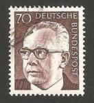 Stamps Germany -  513 - Presidente G. Heinemann