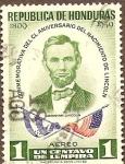 Stamps Honduras -  ABRAHAM  LINCOLN