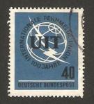 Stamps Germany -  337 - Centº de la Union Internacional de Telecomunicaciones