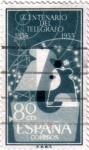 Sellos de Europa - Espa�a -  Centenario del telegrafo