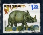 Sellos de Europa - Polonia -  styracosaurus