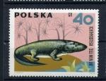 Sellos de Europa - Polonia -  Ichthyostega