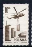 Sellos de Europa - Polonia -  construcción
