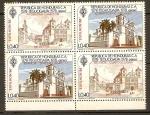 Sellos de America - Honduras -  CONTRAMARCA  MÉXICO 86