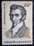 Stamps Europe - Belgium -  ADOLPHE QUETELET 179-1874
