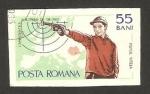Sellos de Europa - Rumania -  campeonato europeo de tiro con pistola