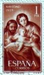 Sellos de Europa - España -  La sagrada familia de Goya