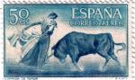 Sellos de Europa - España -  Fiesta nacional Tauromaquia