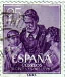 Sellos de Europa - España -  III centenario de la muerte de san Vicente de Paul