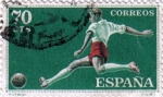 Stamps Spain -  Deportes futbol
