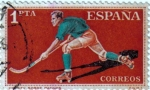 Stamps Spain -  Deportes Hokey sobre patines